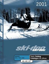 Ski-Doo parts manual catalog book 2001 SUMMIT 600, SUMMIT 700 & SUMMIT 800