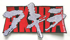ORIGINAL 1989 VINTAGE AKIRA ANIME  JAPAN  LOGO PATCH SEW ON 6 INCHES
