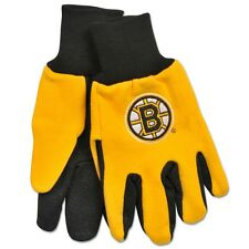 (100) Boston Bruins Two Toned Team Colors Sport Utility Gloves Winter Summer LOT