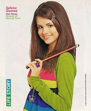 SELENA GOMEZ - WIZARDS OF WAVERLY PLACE - SHREK THE THIRD - PINUP - POSTER