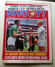 1970 World Cup Shoot Magazine. **Very Rare**