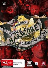 WWE: The History of the WWE Hardcore Championship: 24/7 NEW R4 DVD