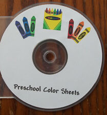 150 Printable Preschool Coloring Sheets.  Educational worksheets for children.