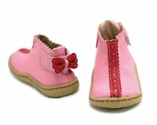 New LIVIE & LUCA Shoes Boots Lola Pink Red Bow 6 HTF