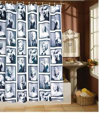 Tenda della doccia vasca da bagno 180x 180 cm Marylin Monroe inclusi anelli