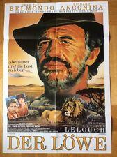 Löwe (Kinoplakat/Filmplakat '89) - Jean-Paul Belmondo / Claude Lelouch
