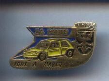 RARE PINS PIN'S .. AUTO CAR RENAULT 5 RALLYE LA POSTE PONT A MARCQ ~9W