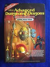 1983 Advanced Dungeons & Dragons AD&D Young Male Titan C-9 MOC Unpunched