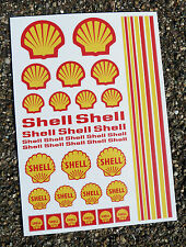 Autocollants RC SHELL stickers Mardave Losi Tamiya HPI Kyosho