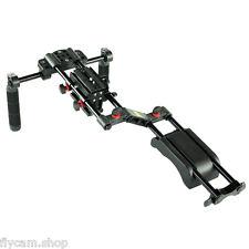 FILMCITY Shoulder Support Video Stabilizer for DSLR Camera DV Camcorder Mattebox