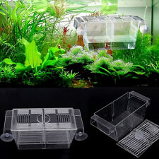 4in1 Aquarium Tank Floating Fish Hatchery Trap Fry Breeding  Isolation Box Large