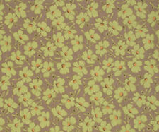 """Gypsy Caravan Wind Flowers Moss Amy Butler Quilt Fabric 26"""" remnant #7C"""