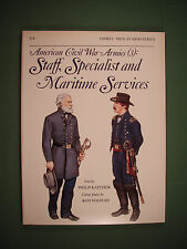 American Civil War Armies(3): Staff, Specialist, Maritime Osprey Men-at-Arms #17