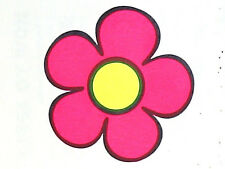 UV GLOW FLOWER TEMPORARY TATTOO  UV008