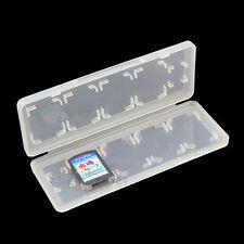 White 10in1 Game Memory Cards Holder Storage Case Box for Sony PS Vita PSV 1000