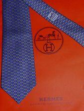 Magnifique Cravate Hermes  (100 % soie) + sac cadeau
