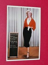 CPA CINEMA CARTE POSTALE MARILYN MONROE WARDROBE SPOT PHOTO FOR NIAGARA 1204