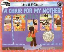 A Chair for My Mother (Reading Rainbow Book), Williams, Vera B., Acceptable Book