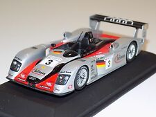 1/43 Minichamps Audi R8 Sport car #3 24 Hours of LeMans 2002