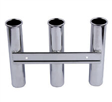 Boat Stainless Steel Fishing Rod Holder 3 Rod Rack Rod Pod for Marine Yacht