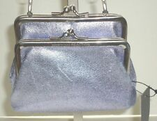 Kenneth Cole Double Frame Evening Bag Wedding Purse Bridal Prom,Party Bag,Purple