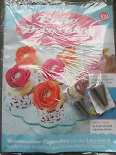Deagostini Cake Decorating Magazine ISSUE 89 LARGE ROUND & DOUBLE RUFFLE NOZZLES