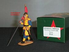 KING AND COUNTRY IC013 IMPERIAL COLLECTION CHINESE GUARD MARCHING WITH SPEAR