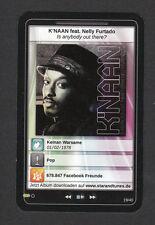K'NAAN  StarTunes Pop Music Card Look! from Germany
