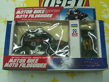 90'S VINTAGE MOTOR R/C BIKE MOTORCYCLE REMOTE CONTROL TOY PLAYWELL MIB