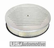 "Cromo De Alumbre ball-milled 14 ""x3"" Air Cleaner Set-s6802c"
