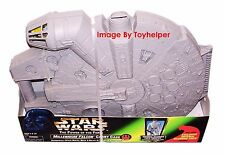 Star Wars POTF Millennium Falcon Carry Case w/Crew Trooper MIP Kenner 1998