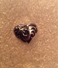JOHN HARDY 2005 SS CHINESE ZODIAC - YEAR OF THE ROOSTER HEART TIE TACK LAPEL PIN
