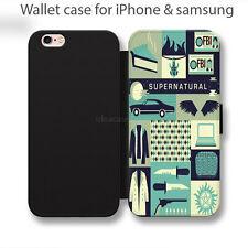 Supernatural Collage cover Wallet iPhone 6s case, iPhone case, samsung wallet