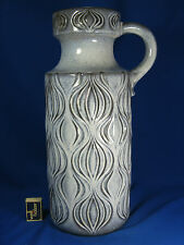 "70´s Scheurich Keramik Vase ""sliced onion pattern"" in a rare colour 485 - 45"