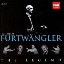 """WILHELM FÜRTWÄNGLER """"THE LEGEND"""" 3 CD NEU"""