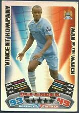 TOPPS MATCH ATTAX 2011-12- #385-MOTM-MANCHESTER CITY-VINCENT KOMPANY