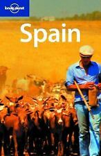 Lonely Planet Spain (Country Guide), Damien Simonis, Good Condition, Book