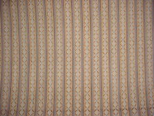 8-1/8Y BRUNSCHWIG ET FILS FRENCH TRELLIS LATTICE BROCADE UPHOLSTERY FABRIC