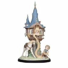 PRECIOUS MOMENTS Disney Showcase Rapunzel In Tower 144027*NEW IN BOX*LIMITED!!!
