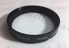 Nikon Genuine OEM 52mm Macro N0.2 Close-up Lens Attachment Filter 52 mm Japan