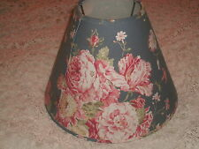 SHABBY COTTAGE WAVERLY HEIRLOOM MASTERPIECE LAMP SHADE GARDEN PARIS APT CHIC