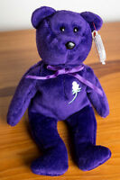BEANIE BABY PRINCESS BEAR 1ST EDITION MINT CONDITION
