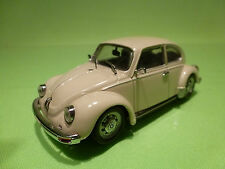 JOUEF 1:43 VW VOLKSWAGEN KAFER BEETLE 1303 - BR. WHITE - RARE SELTEN - VERY GOOD