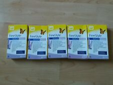 5 Boxes Of 10 Freestyle Optium Ketone test strips. BNIB. NO RESERVE EXP 11/2017
