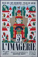 TRES RARE : 5e SALON DE L'IMAGERIE 1944 Charlemagne BATY Musée Arts Décoratifs