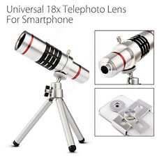 18x Zoom Telephoto Camera Lens With Tripod Holder For iPhone Mobile Smart Phone