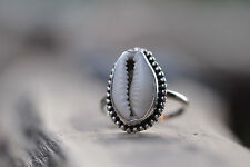 Cowrie Shell Ring by DonBiu, Nice handmade 925 silver ring, designer piece!!!