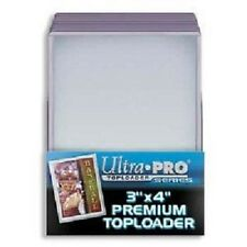 25 Ultra Pro Premium 3x4 Toploaders Brand New top loaders