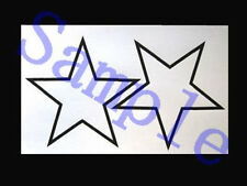 Temporary Tattoo Soul Eater Black Star Cosplay Costume A