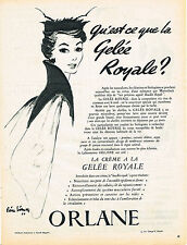 PUBLICITE ADVERTISING 024   1954   ORLANE  cosmétiques  GELEE ROYALE